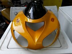 2006 2007 KAWASAKI ZX10R AFTERMARKET UPPER FAIRING FRONT COWL AND WINDSHIELD