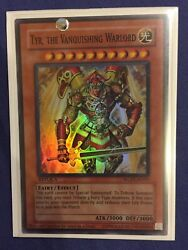 Yugioh - Tyr, the Vanquishing Warlord - WCPS-AE903 - WCS Prize Card - Gem Mint