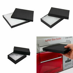 Slimline Pip Royal Mail Large Letter Black Card Jewellery Gift Boxes, 1-48 Pack