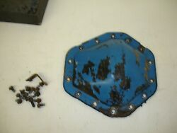 Gm 10.5 14 Bolt Full Float Rear Diff Cover Stock Cover With Bolts