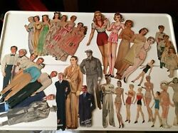 Antique Vintage Paper Doll Collection Too Many Items To Count Wow Rare Massive