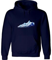 Snow Mountain Climbing And Hiking And Mountaineering Art Hoodies Sweatshirt Pullover