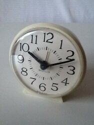Vintage Westclox Mechanical Wind Up Alarm Clock House Home Decor Made In Usa