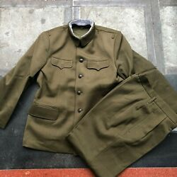 Obsolete 55's Series China Pla Army General,officer Winter Uniform,pants,set
