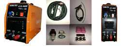 Non-touch Pilot Arc Plasma Cutter Cut50df 50amp 110v/220v Dual And 18 Consumables