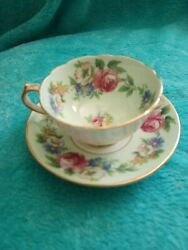 Paragon Tea Cup And Saucer China By Appointment To Hm The Queen And Hm Queen Mary
