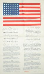 Usaaf Pilot Blood Chit 14 Languages European Former Countries