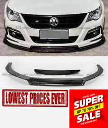 EPA Style Carbon Fiber Front Bumper Lip Body Kits For 09-12 Volkswagon Passat CC