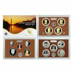 2013-s U.s. Clad Proof Set Complete 14-coin Set, With Box And Coa