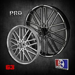 26 Inch G3 Custom Motorcycle Wheel Harley Bagger Touring