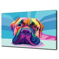 English Mastiff Canvas Print Picture Wall Art Free Uk Delivery Variety Of Sizes