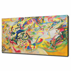 Wassily Kandinsky Composition 7 Abstract Canvas Print Picture Wall Hanging Art