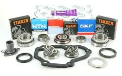 Vw T5 Transporter 02z 5 Speed Pro Gearbox Bearing And Seal Rebuild Kit W/ Silicone