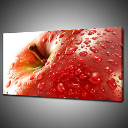 Red Apple Canvas Picture Print Wall Hanging Art Home Decor Free Fast Delivery