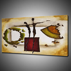 Abstract Figures Modern Canvas Picture Print Wall Hanging Art Home Decor