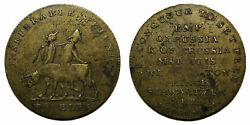 Uk 1814 Napoleon Inseperable Friends - To Elba Political Medal/token By Kettle