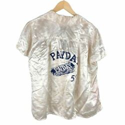 1930s Ladies Satin Payday Candy Advertising Blouse