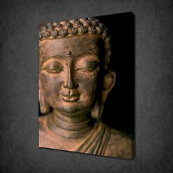 Marble Buddha Canvas Print Picture Wall Hanging Art Free Fast Uk Delivery
