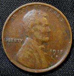 1915-s San Francisco Mint Lincoln Wheat Cent Penny An2