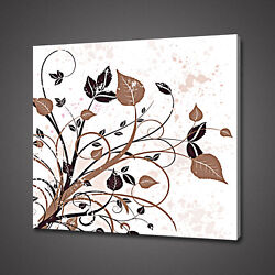 Abstract Foliage Canvas Picture Print Wall Hanging Art Home Decor Free Delivery