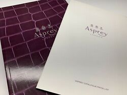 asprey london 252 page full catalogue + price list   great for luxury designers