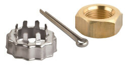 Sei Marine Products-compatible With Evinrude Johnson Nut And Cotter Pin 800series