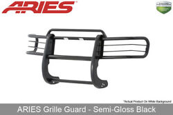 1998-2000 Ford Ranger GrilleBrush Guard Front 1-piece Aries Black Semi-Gloss