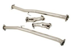 Megan Exhaust Downpipe/down Pipe For 90-96 Nissan 300zx Z32 Fairlady Z Turbo V1