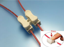 Tool-Free Wire Connectors / Quick Splice CH2 Cable Terminal Blocks - Wholesale