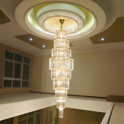 Luxury K9 Crystal Light Hotel Lobby Chandeliers Villa Stairs Ceiling Lights9021