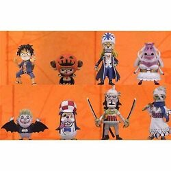 One Piece World Collectable Figure Halloween Special All Eight Furukonpu SetfS