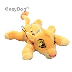 The Lion King Plush Toy Lying Simba Plushies Keychain Stuffed Doll Pendant 5and039and039