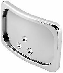 Bikers Choice Curved License Plate Frame Chrome For Harley 166026 482733 48-2733