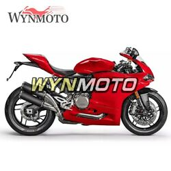 Red Covers For Ducati 959 2015 2016 2017 15 16 17 Cowlings Motorcycle Bodywork