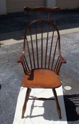 Rare Comb-back Antique Windsor Arm Chair, Good Cond, 45overall Ht.