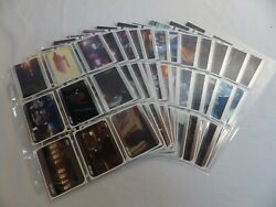 Star Trek The Movies 2014 Trading Cards 2009 Film Silver Parallel Base Set