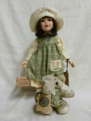 2000 Boyds Bear Yesterdays Child Molly Cricket Winged Friend Large L/e Doll 4924