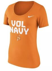 Nike Women's Tennessee Vols Football Local Scoop Neck Jersey Shirt Large L Ncaa