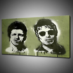 Oasis Liam Noel Gallagher Canvas Picture Print Wall Hanging Art Home Decor