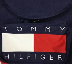 Preowned Tommy Hilfiger Vintage Tommy Backpack 80#x27;s 90#x27;s Spellout Large Flag $57.99
