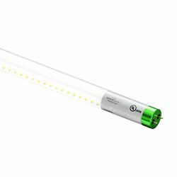 T8 4ft 18w Led Tube Lamps - Clear - Single Ended Power, Shop Light Fixture Bulbs