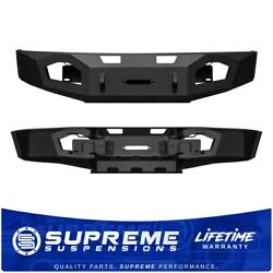 For 2009-2014 Ford F-150 Off-road Bumper Massive Steel Allows 16,500 Lbs. Winch
