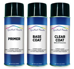 For Toyota 1d6 Silver Sky Metallic Aerosol Paint Primer And Clear Compatible