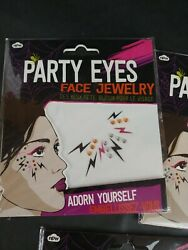Party Eyes Body Face Jewelry Gems Image Costume Make Up Body Art
