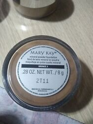 Mary Kay® Mineral Powder Foundation - .28oz New!! Bronze 3 2t24