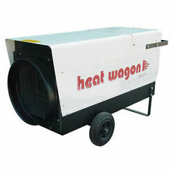 Heat Wagon Electric Heater, 60/48/24 KW, 205000 BTU, 480V, Ductable, Lot of 1