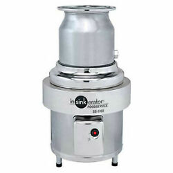 InSinkErator Commercial Garbage Disposer Only 10 HP Lot of 1
