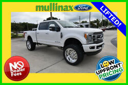 2019 Ford F-250 Limited 2019 Limited New Turbo 6.7L V8 32V Automatic 4WD Pickup Truck Moonroof