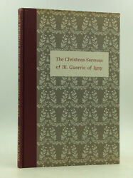 Christmas Sermons Of Guerric Of Igny - 1959 - Signed By Thomas Merton, Autograph