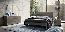 Esf Tekno Queen Bedroom Set Made In Italy By Camelgroup Italy Total Of 5 Pieces